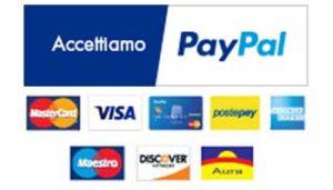Accettiamo Paypal